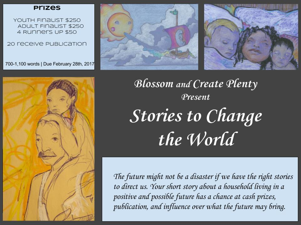 Stories to Change the World Deadline FEB 28th | KBOO