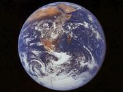 whole earth from space