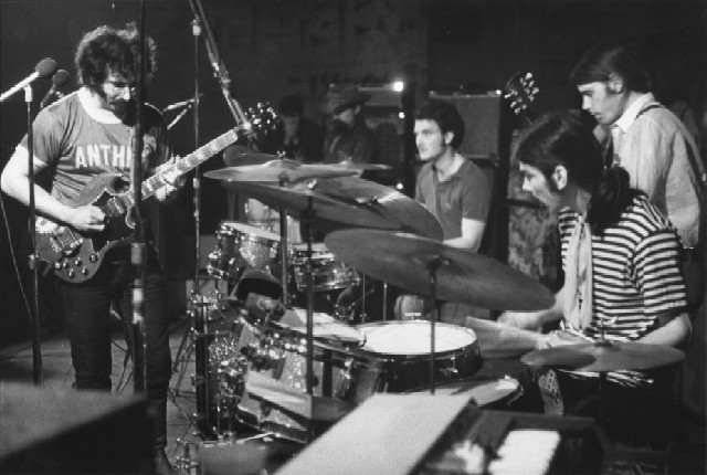 Grateful Dead playing April 1969 at The Ark, Boston, MA