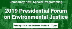 Democracy Now Special Environmental Debate