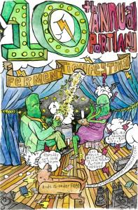 Portland Fermentation Festival Poster