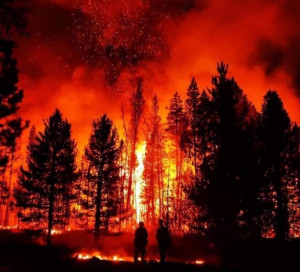 Bootleg Fire, Southern Oregon