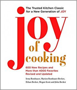 Joy of Cooking 2019 edition by co-authors John Becker and Megan Scott