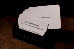 an oblique strategy