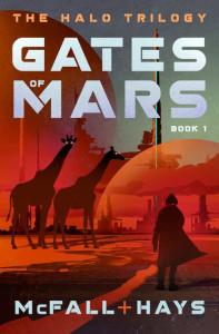 Gates of Mars by Kathleen McFall and Clark Hays (Pumpjack Press)