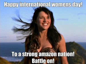 Xena Warrior Princess meme