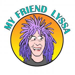 My Friend Lyssa podcast logo