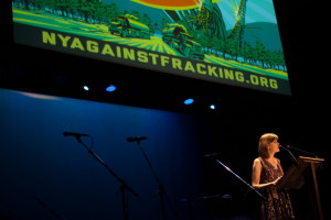 Sandra Steingraber at NY Against Fracking concert