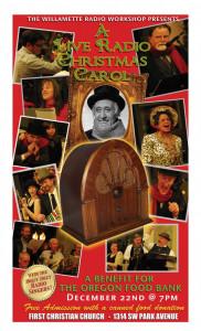 Willamette Radio Workshop presents A Radio Christmas Carol