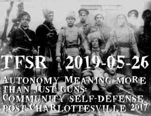 A bunch of armed historical figures from Makhno's army
