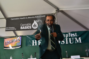 Ngaio Bealum at Seattle Hempfest