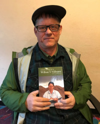 William T. Vollmann in the KBOO studios