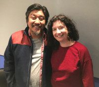 Edward Lee and Liz Crain