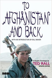 Matt Bors and Ted Rall talk about their 2010 trip through Afghanistan with S.W. Conser on Words and Pictures in the KBOO Radio studios