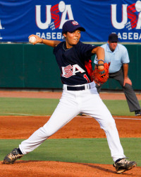 USA Baseball 2010 Women's National Team VS Australia. Photo credit: Karl Fisher.